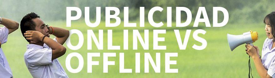 publicidad online y offline