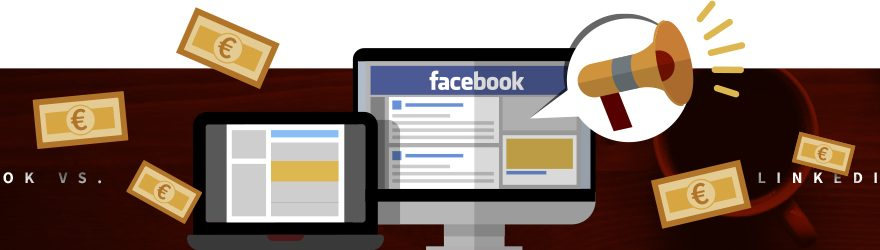 dacebook ads vs linkedin ads.