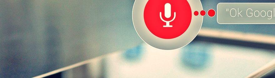búsquedas por voz