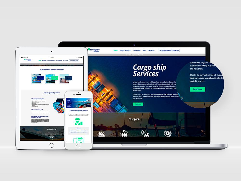 web shipping